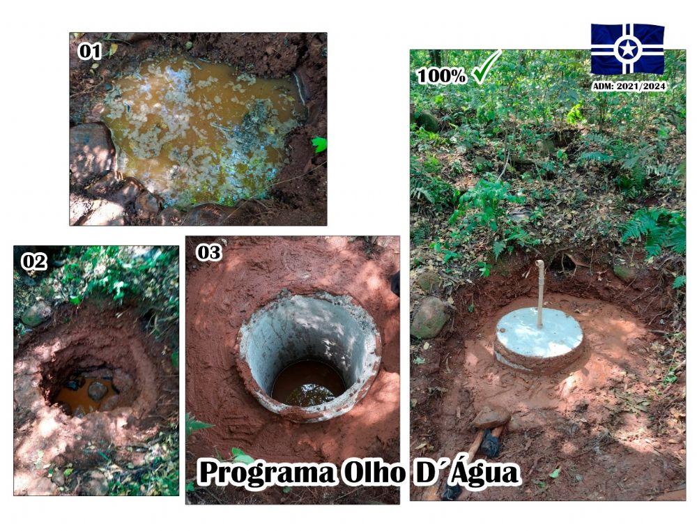 Programa Olho D'Água protege nascentes em Salto do Lontra