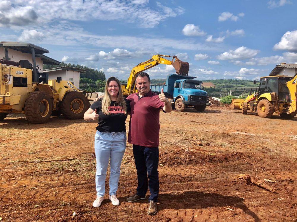 Começa terraplenagem para construção do Hospital Municipal